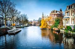 Amsterdam (Nitramib) Tags: amsterdam neatherlands winter river rio invierno house casa clouds nubes holanda