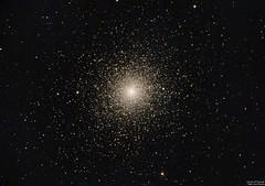 Cumulo Tucanae o NGC104 (ACHAYA - Astrofotografías) Tags: cumulo tucanae ngc104 pochoco achaya
