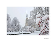 Admont, April 19 Schneefall (E. Pardo) Tags: schneefall april admont admontabbey admontstiftskirche abadíaadmont nieve primavera steiermark austria