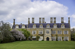 Holdenby Palace (Coisroux) Tags: mansions countryestates estates palaces grandeur homes listedbuildings grade1 listed historic architecture elizabethan formalgardens lawns chimneys windows symmetry design d5500 nikond holdenby northamptonshire heritage