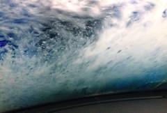 carwash 2 (HansHolt) Tags: carwash wasstraat autowasstraat windscreen windshield voorruit water foam schuim brush wrap light abstract iphone4s