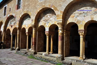 521 – Claustro - Abadía Sainte Foy – Conques (France).