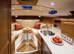 Back cove 30 interior (Soundings Magazine) Tags: boats pocketcruisers cruisers yachts