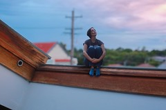 309/365 (Jessie Rose Photography) Tags: tinypeople theborrowers skylight sunset sydney 365 365project 365challenge selfportrait