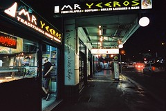 Sydney (goodfella2459) Tags: nikon f4 af nikkor 24mm f28d lens cinestill 800t 35mm c41 film analog sydney city colour streets night road milf