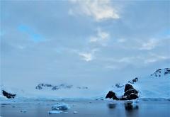 Dusk, Antarctic Peninsula. Feb. 2016. (Ruby 2417) Tags: dusk sunset antarctica antarctic peninsula