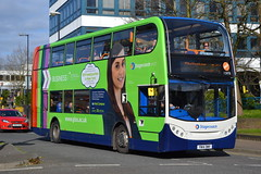 Stagecoach West 15978 YN14OWV (Will Swain) Tags: gloucester 4th april 2017 bus buses transport travel uk britain vehicle vehicles county country england english gloucestershire city centre stagecoach west 15978 yn14owv