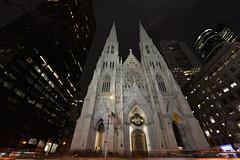 Saint Patrick's Cathedral (..Javier Parigini) Tags: saintpatrickscathedral stpatrick catedral church usa unitedstates estadosunidos newyork newyorkcity manhattan nyc nuevayork nikon nikkor d800 1424mm f28 flickr javierparigini