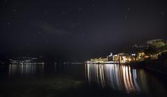 Stardust (Christian Ferrari) Tags: night sky stars stardust light reflections lake water longexposure colors landascape