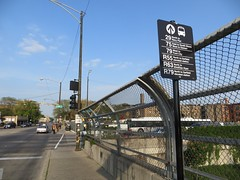 Breadcrumb sign at 79th (cta web) Tags: railroad chicago cta trains transit southside redline chicagotransitauthority rapidtransit danryan ctaredline redsouth redlinesouth