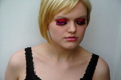 1a (RebeccaLynnPhotography8) Tags: pink portrait female photoshop makeup cannon expressive editing piercings artistry