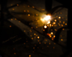 Scattered Dreams (avikpics...) Tags: light hot welding flame torch temperature spark sparkling scattered
