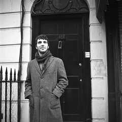 Sherlock (Max Miedinger) Tags: street fiction blackandwhite london film analog season 1 baker series analogue londra serie bianconero biancoenero analogica sherlock selfdeveloped rullino selfdevelop rullini