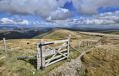 High Raise - Roman Road (mjb868) Tags: mountains clouds walking landscape nationalpark scenery solitude lakes lakedistrict rocky trail cumbria fells mountaineering vista peaks tarn rugged rambling moorland d7000 mjb868