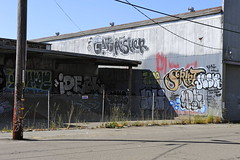 GATS, MASHER (STILSAYN) Tags: california graffiti oakland bay east area ideal script sori pemex 2013 jesr