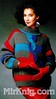 Georges Picaud  Hiver/Fêtes №104 1986 (Homair) Tags: vintage sweater fuzzy fluffy mohair tneck georgespicaud