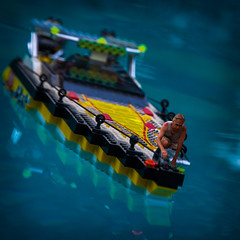 on the bow... (w3inc / Bill) Tags: pool square boat sp legos bubblewrap hss d90 w3inc