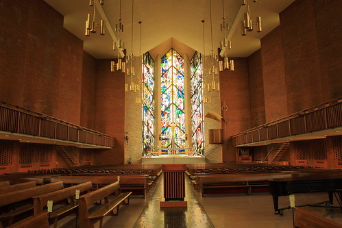 Interior of Chapel, Valparaiso University - Valparaiso, Indiana