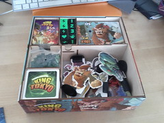 Everything in its right place (RobotSkirts) Tags: wood box organizer boardgame kot lasercut iello kingoftokyo
