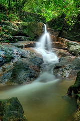 Waterfall (abrani61) Tags: nature water river waterfall drops malaysia frim