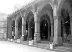 Sidi Saiyyed Mosque, Ahmedabad (bodythongs) Tags: city nikon arch muslim mosque carving mezquita ornate masjid mosk ahmedabad sidi jali    masjed moschee latticework sultanate  amdavad jalis   d5100  saiyyed bodythongs     moschea