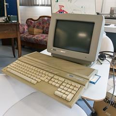 Atari 1040ST (Bephep2010) Tags: museum computer schweiz switzerland sony atari monitor enter solothurn nex homecomputer 1040st sm124 nex6 selp1650