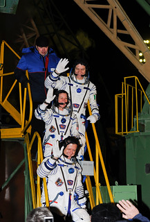Expedition 26 Soyuz Launch