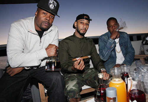 Swizz Beatz speaks on making magna carta Holy Grail with Jay-z  . says the samsung deal Showed Strength