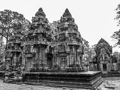 P9044216ed copy 2 (v.mich) Tags: blackandwhite white black monochrome temple blackwhite cambodia culture olympus angkorwat siemreap e5