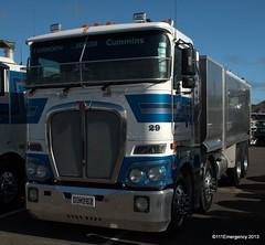 Truck Expo - Big Rigs - Manfeild (111 Emergency) Tags: new truck big expo zealand rig nz manfeild feilfing