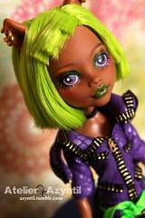 Monster High: Dawn of the Dance Clawdeen (Azyntil) Tags: monster high wolf doll ooak custom repaint clawdeen monsterhigh