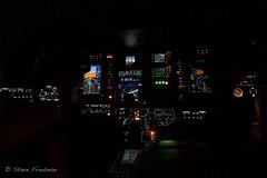 Night Flight (S F photographs) Tags: night airplane flying aviation jet cockpit cessna citation cj3
