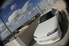 _MG_1512 (V-Way - Mr. J Photography) Tags: ocean fish eye cars skyline canon nissan parking lot automotive event oceancity amateur meets jdm r32 600d h20i h2oi