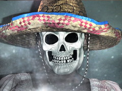 Say ~ CHEESE ! (Shelby's Trail) Tags: party me skull mask sombrero ~ selfie disquises eightdaysaweek twtme hmam likeits1999 meagainmonday