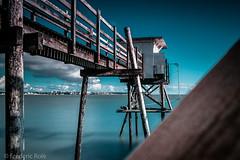 Carrelets à Royan (Chambres Noires) Tags: ocean france bleu royan carrelet carrelets poitoucharentes 2013 chambresnoiresfr ©frédéricrolé frédéricrolé