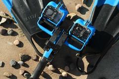 Крепление камеры GoPro3 к подводному ружью.
