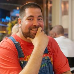 Bourbon Bear Contest-6x6-5187 (Mike WMB) Tags: bear beard goatee overalls mrkentuckybourbonbear