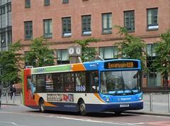 Stagecoach in Glasgow - T178 MVM (22178) (MSE062) Tags: man bus manchester scotland glasgow single alexander stagecoach decker mvm 22178 t178 alx300 t178mvm