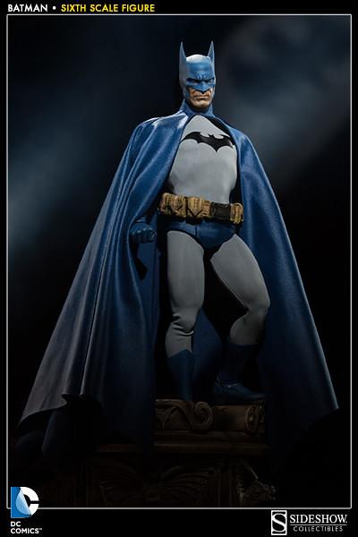 經典傳奇再現!美漫大師Jim Lee 版 1/6 比例蝙蝠俠