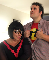 edna and her man (petit hiboux) Tags: halloween2013