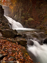 C o l d D i s c o v e r y (AnthonyGinmanPhotography) Tags: autumn japan waterfall autumncolours ueda naganoprefecture olympuse620 olympus1122mmf28