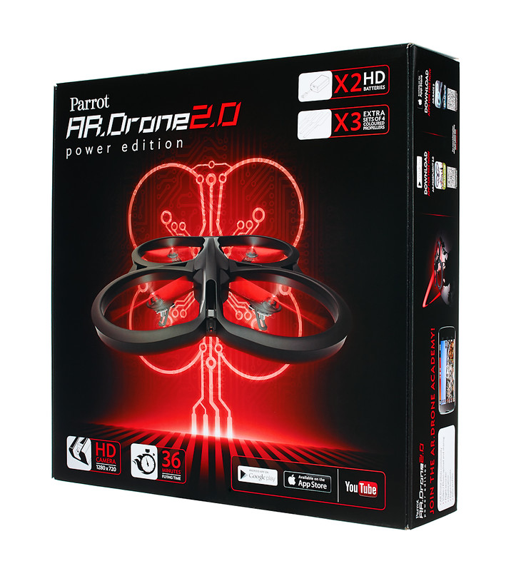 parrot packaging ardrone2