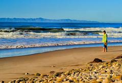 LOOKING BACK ... (Aspenbreeze) Tags: ocean california beach sand surf surfer pacificocean wves aspenbreeze moonandbackphotography bevzuerlein