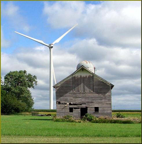 barn farming oldbuildings iowa farmland silo skyandclouds weatheredwood windfarms oldbarn windgenerators oldfarms abandonedfarms northwestiowa dgrahamphoto windmillselectric