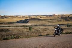 Graveling through Badlands (Neo - nimajus) Tags: trip travel usa america adventure crosscountry journey motorcycle