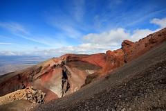 Eye of Sauron (Emily Miller Kauai) Tags: newzealand volcano crossing hike alpine northisland tongariro redcrater