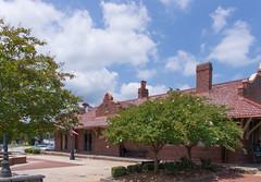 Barnesville Depot (jwcjr) Tags: traindepot barnesvillega barnesvillegeorgia barnesvilledepot
