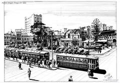 Porto Alegre Praça XV 1930