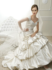 Will You Marry Me? (Sabrina Satin1) Tags: bridal satin effeminate bridalfantasy crossdressingfantasy
