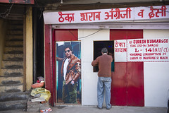 Booze Shop (Shubh M Singh) Tags: street india shop warning advertising wine candid indian country spirits advertisement made liquor alcohol booze whisky khan foreign himachal shahrukh pradesh imfl barog theka
